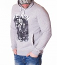 Sudaderas con capucha - Sudaderа The City  - Gris