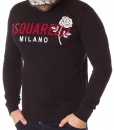 Dsquared Sueters - Sueter Milano Rose Negro