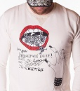 Dsquared Sueters - Sueter Hey You Dude - Blanco