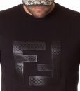 Fendi Sueters - Sueter de invierno Doble FF Negro