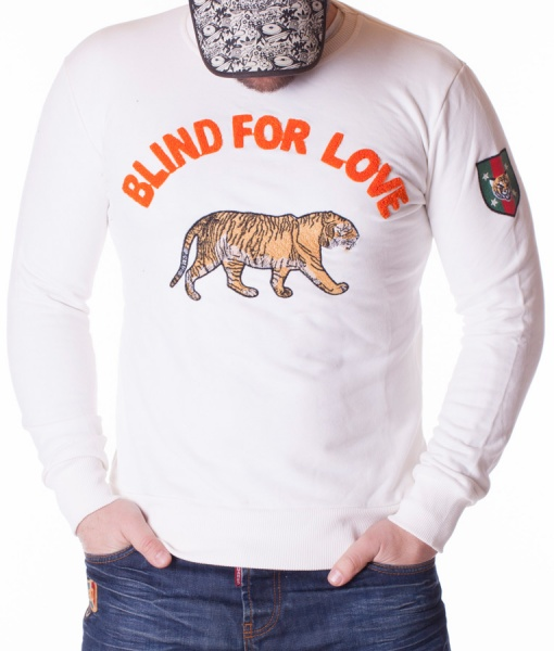 Gucci Pulovers - Sueter Blind For Love - Blanco