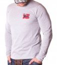 Sueters - Norway National Flag Sueter Gris